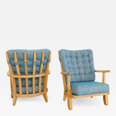 Guillerme et Chambron Pair of Arm Chairs by Guillerme et Chambron