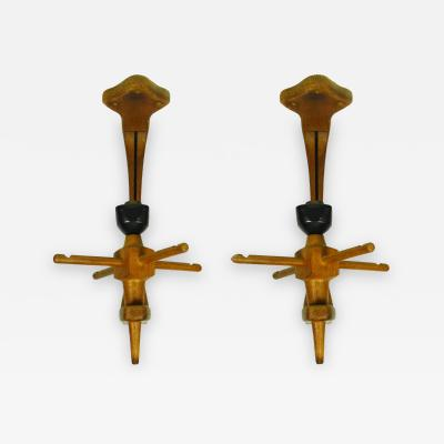 Guillerme et Chambron Pair of Guillerme et Chambron Wall Sconces