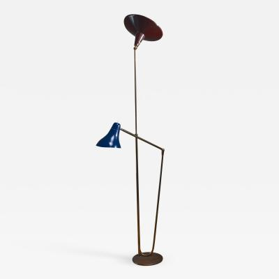 Guiseppe Ostuni Guiseppe Ostuni floor lamp with 2 shades for O Luce Italy
