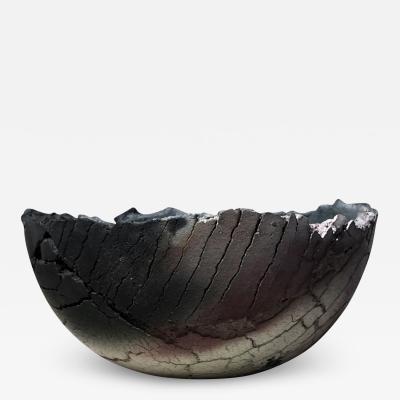 Gundula Sommerer Sagger fired ceramic bowl