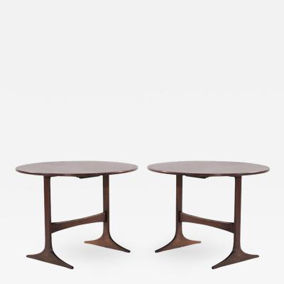 Gunnar Myrstrand Sven Engstr m Set of Folding Coffee Tables by Sven Engstrom Gunnar Myrstrand Sweden 1950s