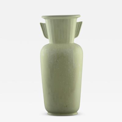 Gunnar Nylund Gunnar Nylund for Rorstrand Very Large Art Deco Vase with White Glaze