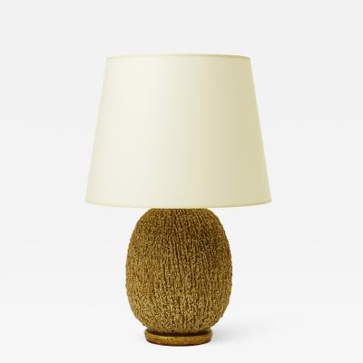 Gunnar Nylund Hedgehog table lamp by Gunnar Nylund