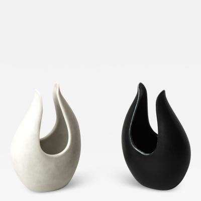 Gunnar Nylund Vases Model Caolina Produced by R rstrand in Sweden