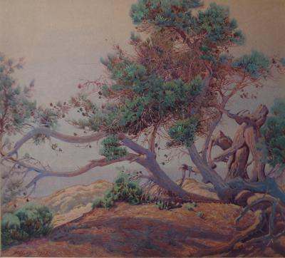 Gunnar Widforss Monterey Landscape