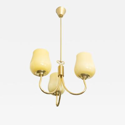 Gunnel Nyman GUNNEL NYMAN 3 ARM PENDANT LAMP FOR IDMAN FINLAND