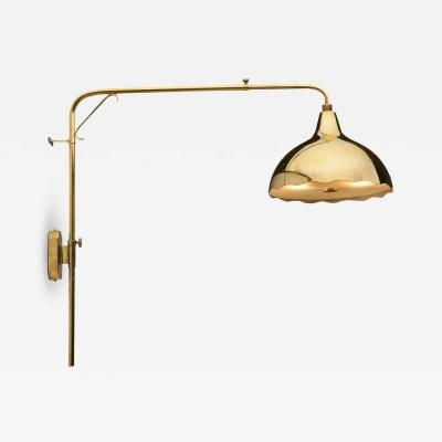 Gunnel Nyman Wall Light by Gunnel Nyman for Idman Oy Finland 1940s