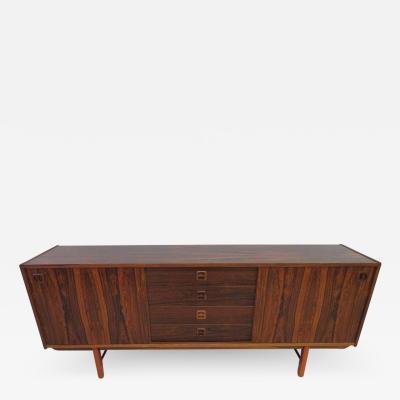 Gunni Omann Danish Modern Rosewood Credenza Sideboard Gunni Omann Style Mid Century