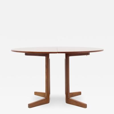 Gustav Bertelsen Dining Table in Mahogany
