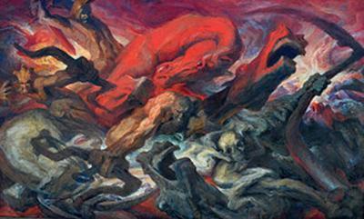 Gustav Rehberger The Four Horsemen of the Apocalypse