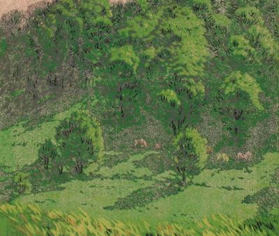 Gustave Baumann Sunny Pastures