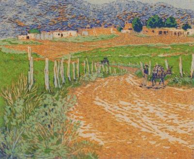 Gustave Baumann The Loma