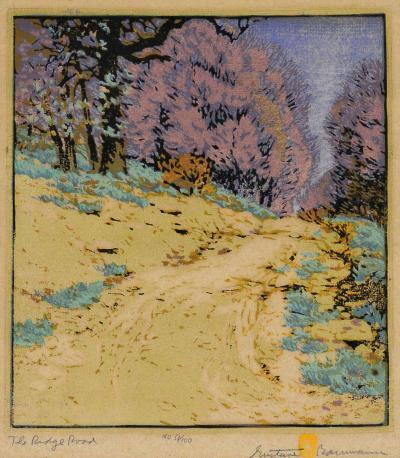 Gustave Baumann The Ridge Road