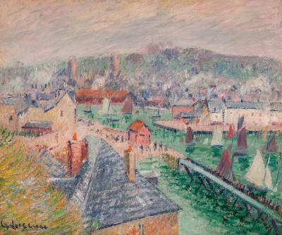 Gustave Loiseau L Avant Port de F camp