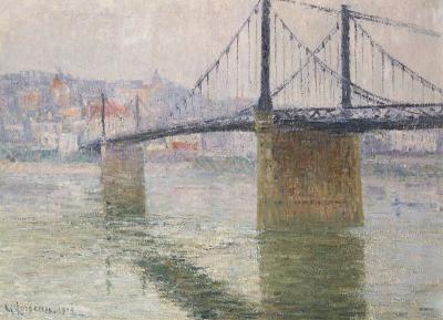 Gustave Loiseau Le post suspend de Triel sur Seine