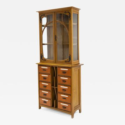 Gustave Serrurier Bovy Gustave Serrurier Bovy Cabinet in oak