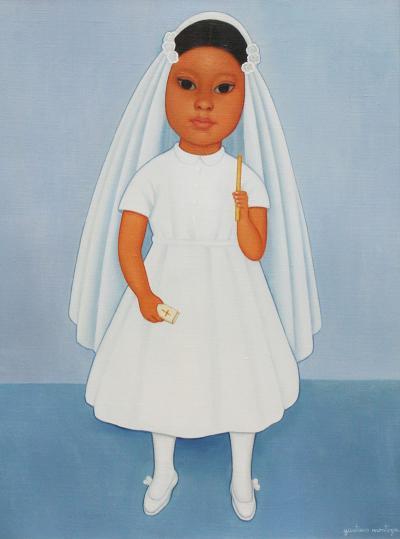 Gustavo Montoya Childs First Communion