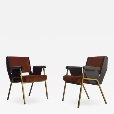 Gustavo Pulitzer Finali Pair of Albenga armchairs for Arflex