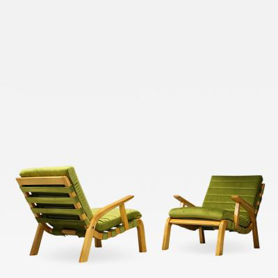 Gustavo Pulitzer Finali Pair of Midcentury Armchairs Gustavo Pulitzer and Giorgio Lacht 1930s