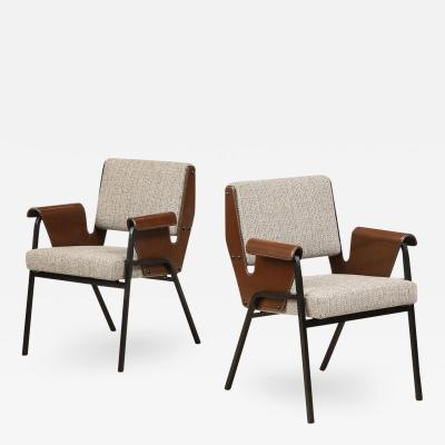 Gustavo Pulitzer Finali Rare Pair of Albenga Armchairs by Gustavo Pulitzer for Arflex