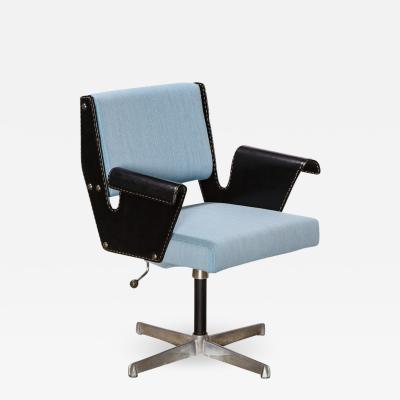 Gustavo Pulitzer Finali Rare Swivel Desk Chair by Gustavo Pulitzer