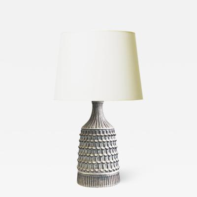 Gutte Eriksen Highly Textured Lamp by Gutte Eriksen
