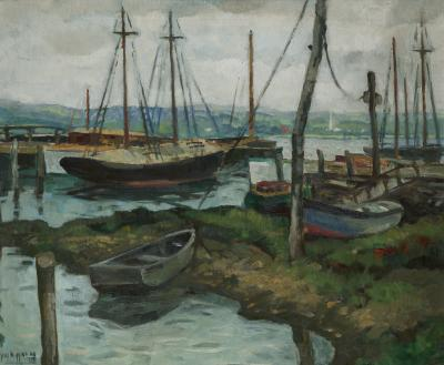 Guy Carleton Wiggins Boatyard