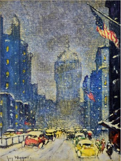 Guy Carleton Wiggins Park Avenue Winter