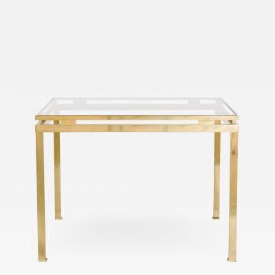 Guy LeFevre Guy Lefevre for Maison Jansen Brass Table French