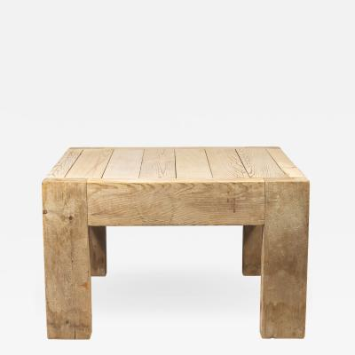 Guy Rey Millet Jean Prouv Jean Prouv with Guy Rey Millet Coffee Table Wood Refuge de la Vanoise