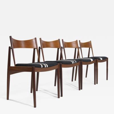 H W Klein Danish H W Klein Teak Dining Chairs set of four