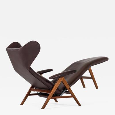 H W Klein Henry Walter Klein reclining chair