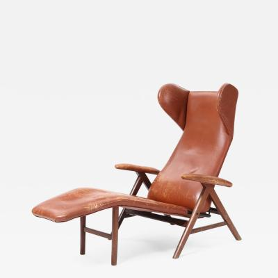 H W Klein Lounge Chair by H W Klein attr for Bramin Denmark 1960s