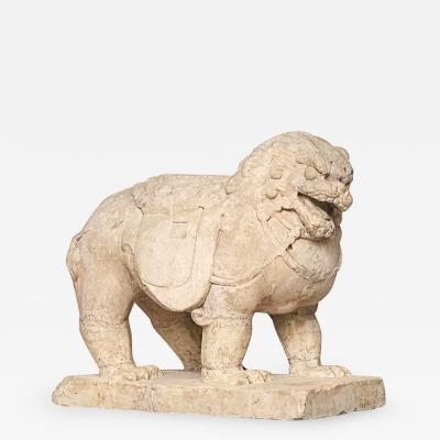 HANBAIYO STONE LION FROM SHANX