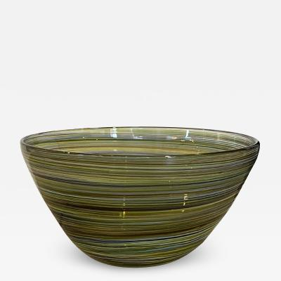 HAND BLOWN MURANO BOWL