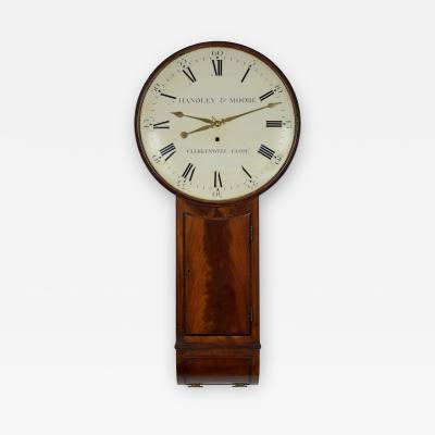 HANDLEY MOORE CLERKENWELL CLOSE A fine mahogany tavern clock by this well known London partnership