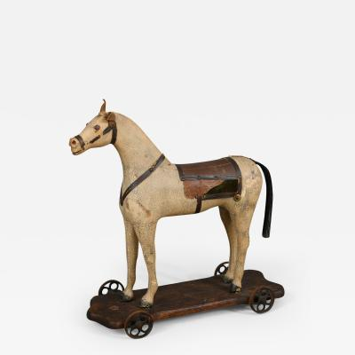 HORSE PULLY TOY