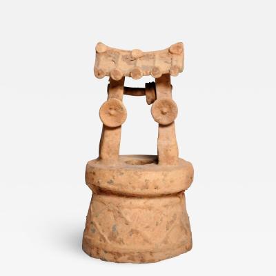 Han Dynasty Model of a Well Head