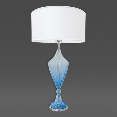 Hand Blown Murano Glass Tapered Lamp