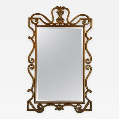 Hand Carved Neoclassical Mirror