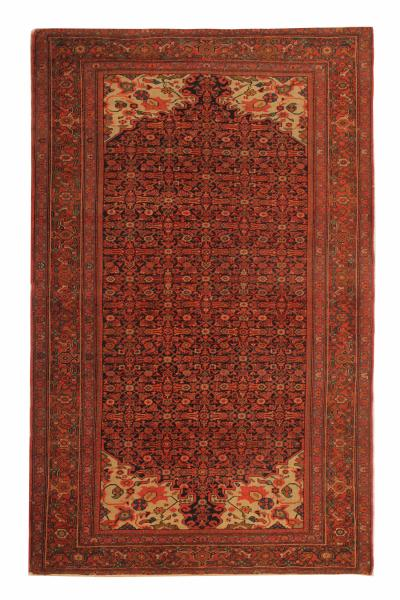 Hand Made Rare Antique Persian Malayer Rug 127x203cm