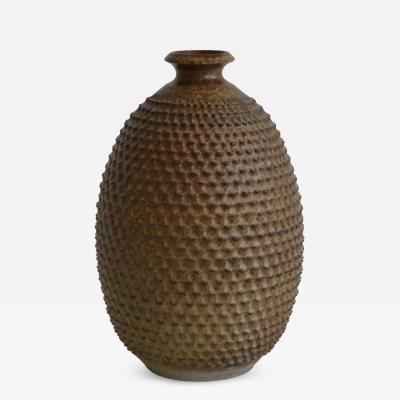 Hand Thrown Ceramic Organic Form Vase