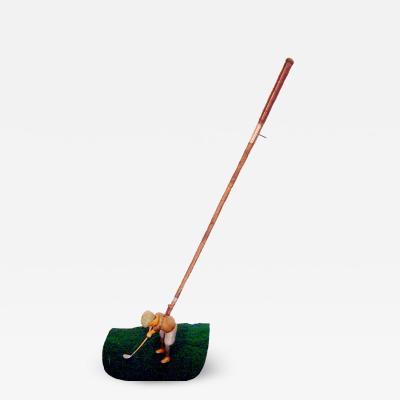 Hand painted Mechanical golfer from A Schoenhut Toy Co