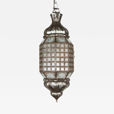 Handcrafted Moroccan Glass Pendant