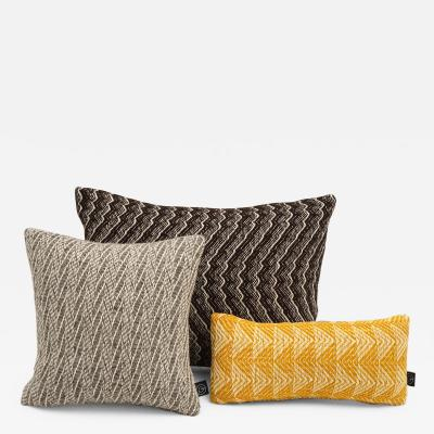 Handloomed Occasional Pillows by Gregory Powell Textiles
