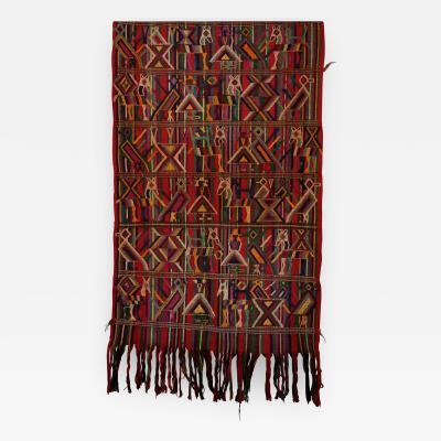 Handmade HUIPIL Textile Guatemalan ca 1950