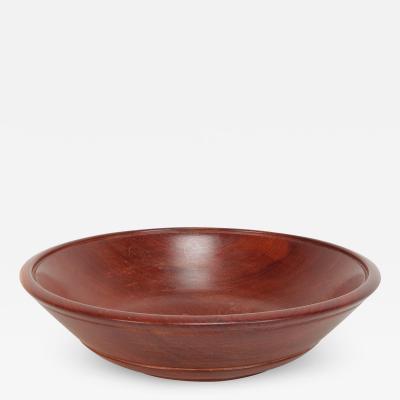 Handmade Mahagoni Bowl 30s