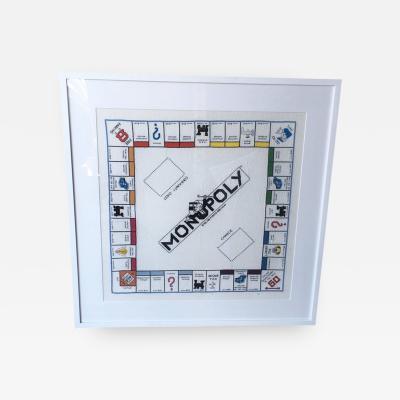 Handmade Needlepoint Monopoly Game Board