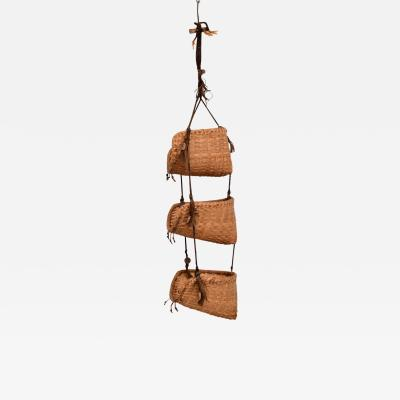 Handmade Nesting Storage Wall Hanging