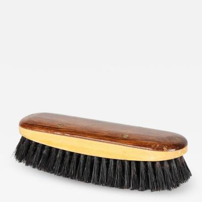 Handmade shoe brush made of rosewood and maple 50s